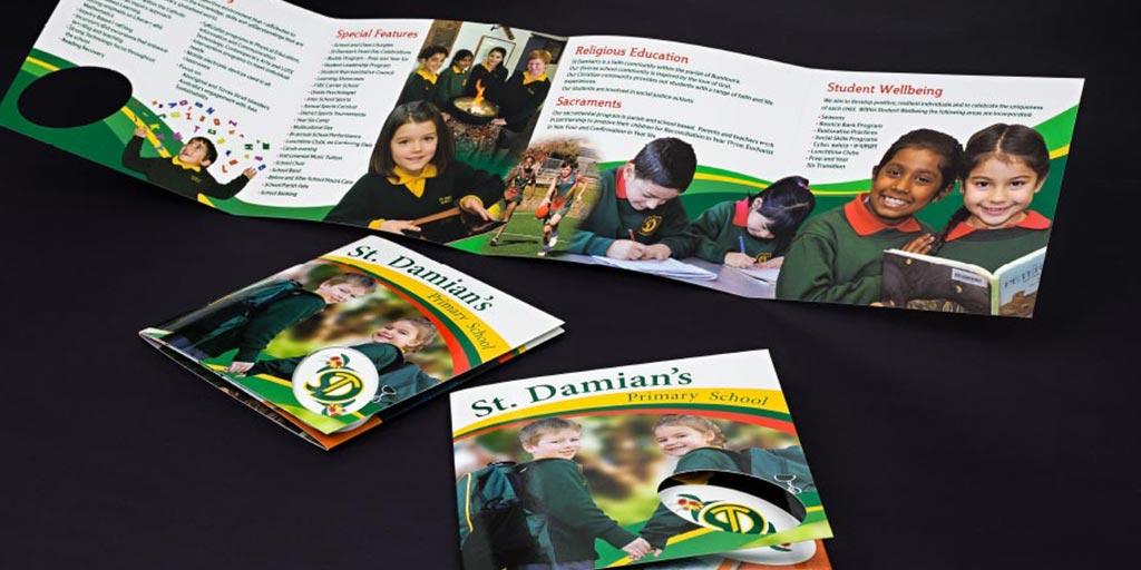 school brochure designs