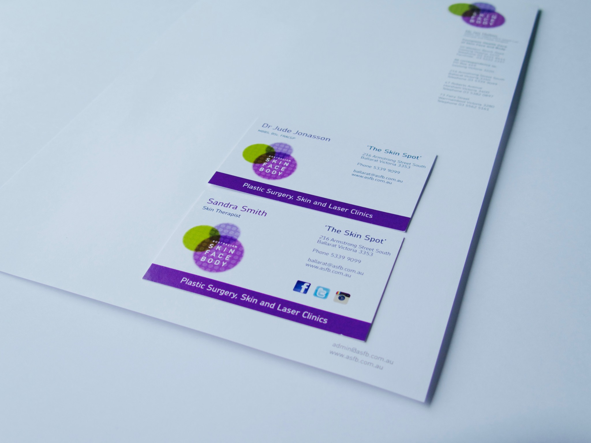 Business Card Printing & Stationery | Print Design Australia