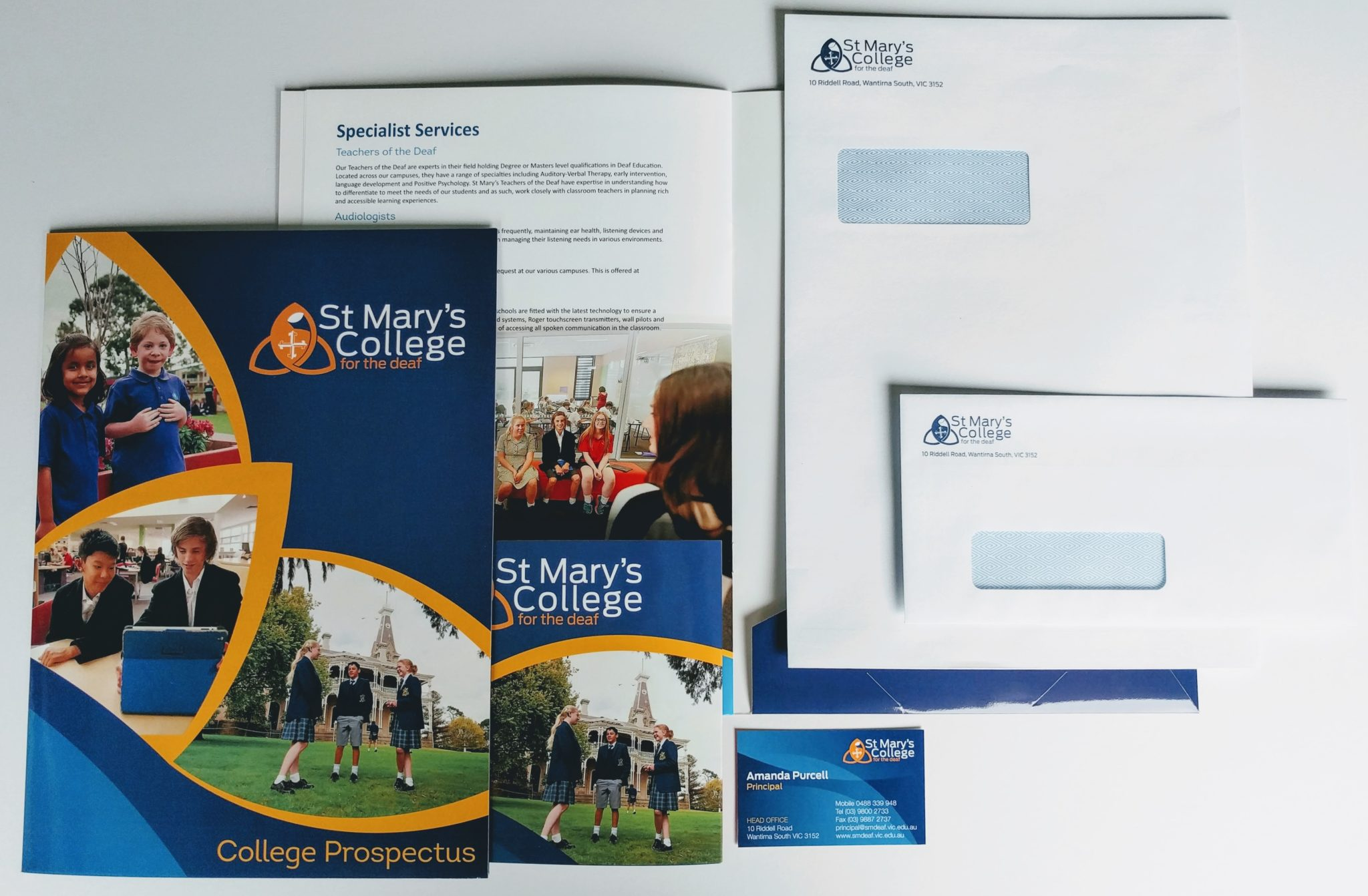 The importance of marketing for schools print design australia throughout the process the team at print design worked with and adhered to customer briefs when designing all the updated school logo and print elements reheart Image collections