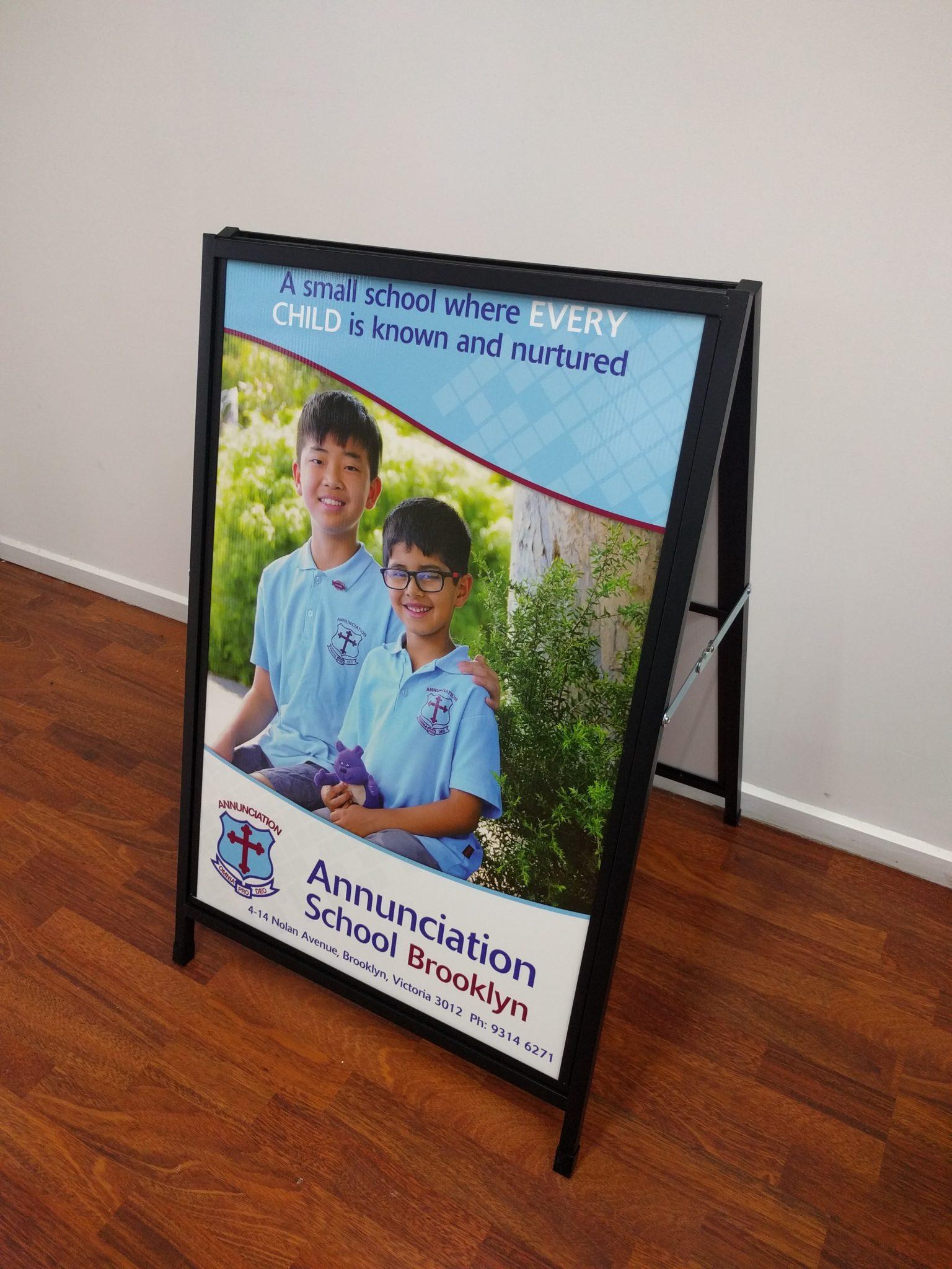 School Banner Printing Amp Flags Print Design Australia